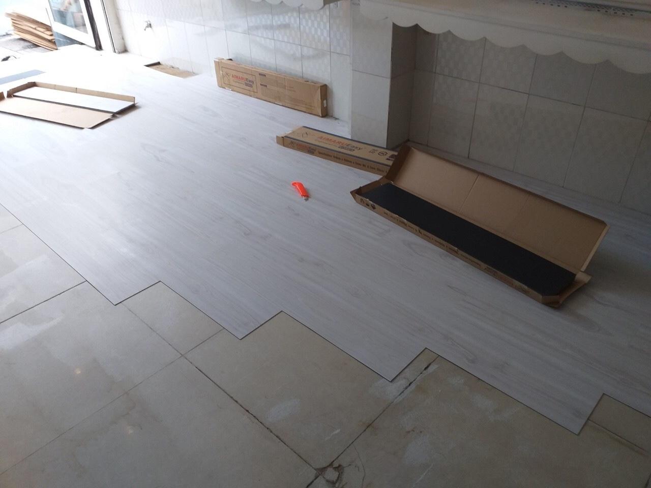 Sàn nhựa Aimaru EASY  vân gỗ