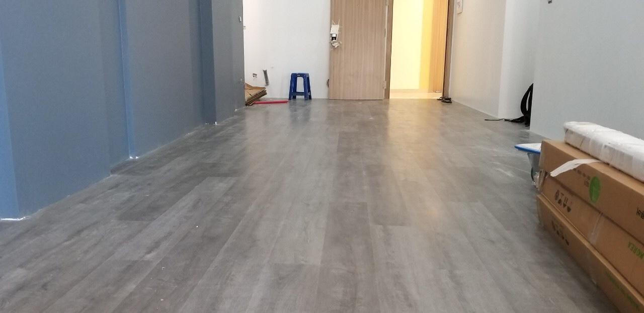 Sàn nhựa hèm khóa giả gỗ 8009