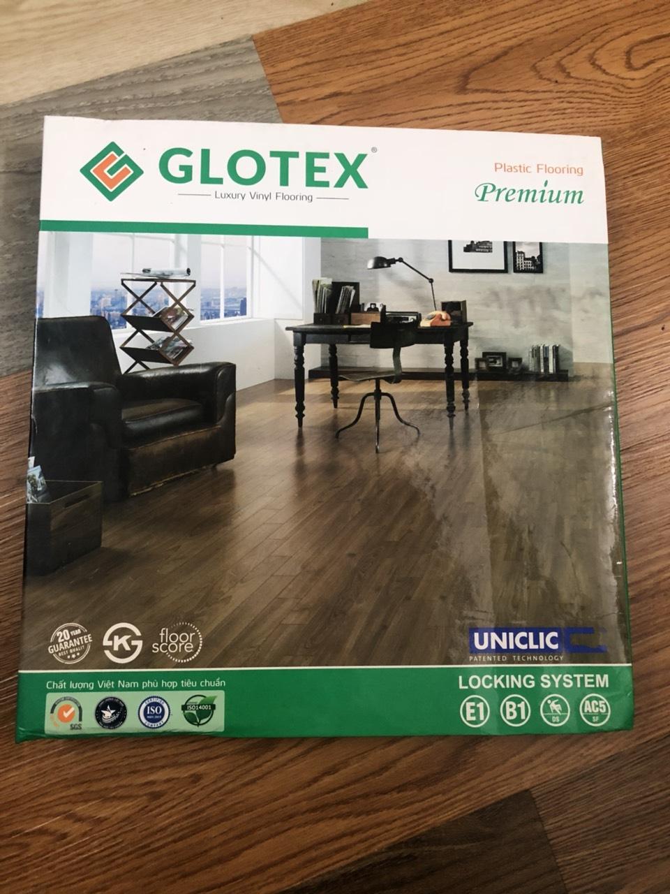 Sàn nhựa hèm khóa  Glotex  sàn giá rẻ