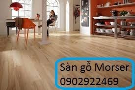 Sàn gỗ morser  chịu nước