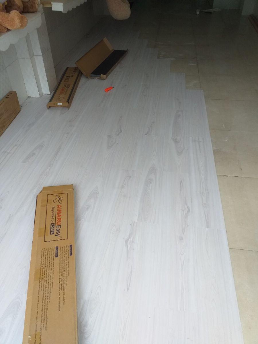 Sàn nhựa vân gỗ giá rẻ Aimaru