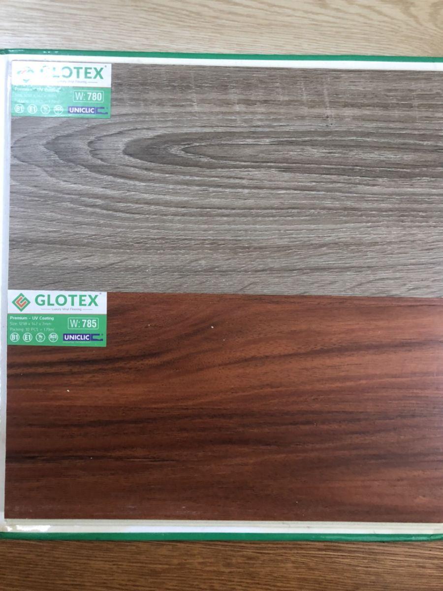sàn nhựa hèm khóa Glotex 7mm