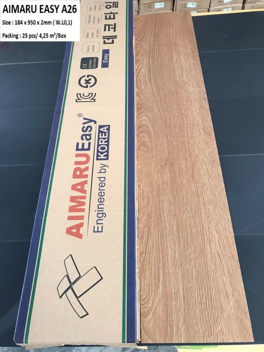 Sàn nhựa  Aimaru  EASY A26
