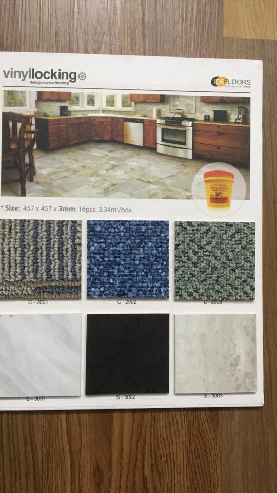sàn nhựa vân đá IDE FLOORS