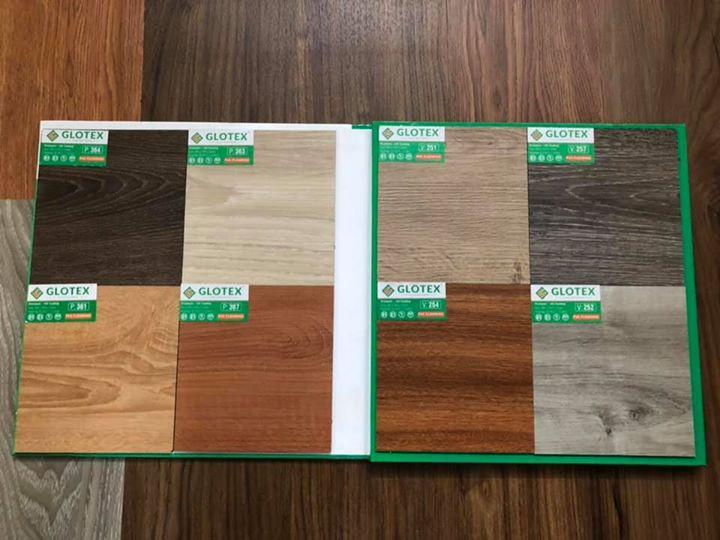 Sàn nhựa giả gỗ Glotex