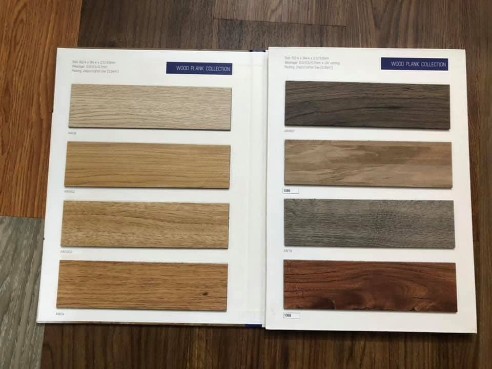 Sàn nhựa Amstrong vân gỗ