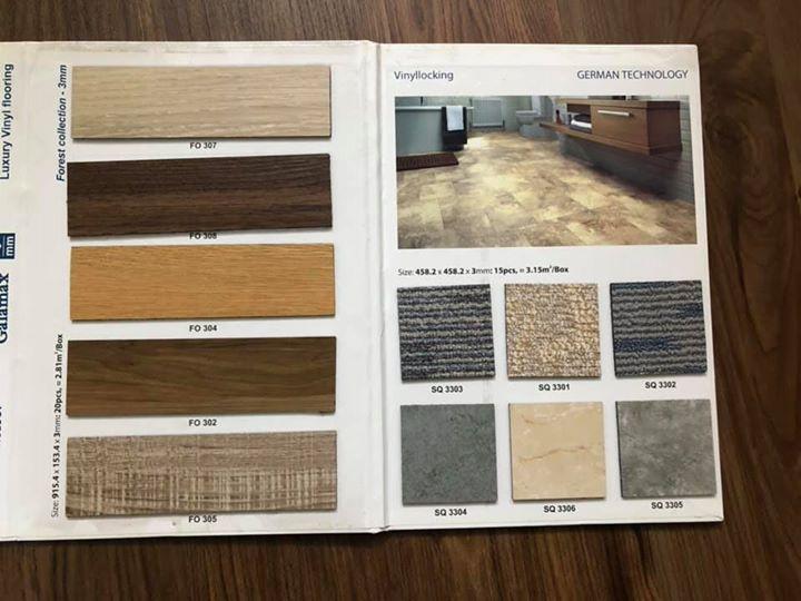 Sàn nhựa giả gỗ Galamax