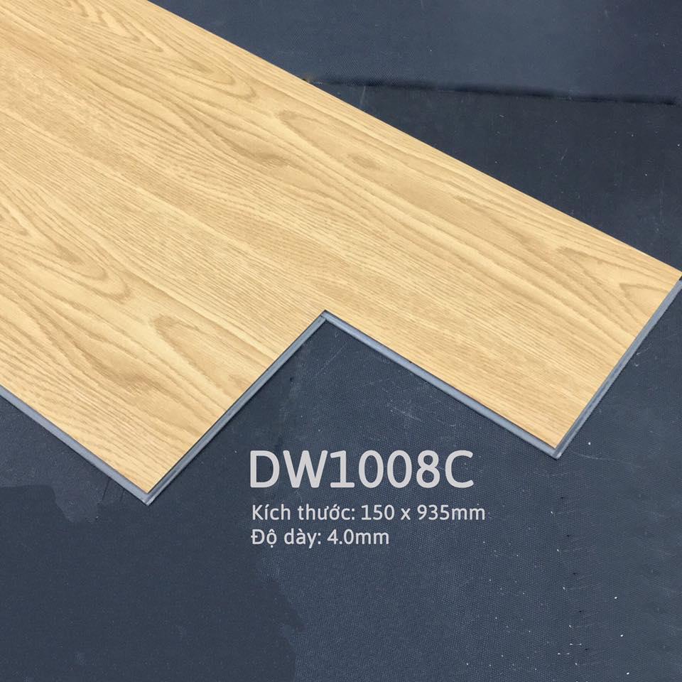 Sàn nhựa hèm khóa deluxe click DW1008