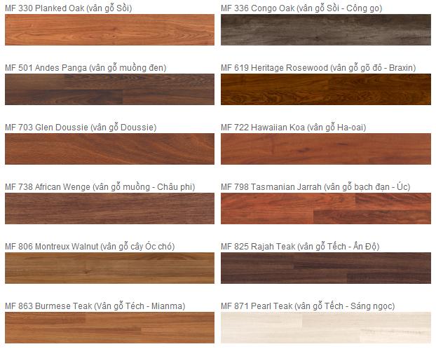 Sàn gỗ  Inovar Malaysia giá rẻ