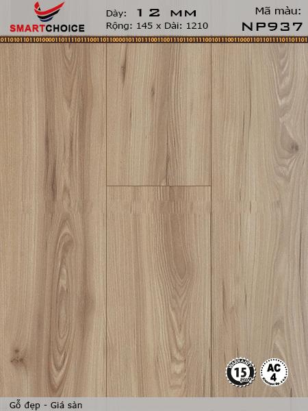 Sàn gỗ công nghiệp Smartchoice 12mm NP 937