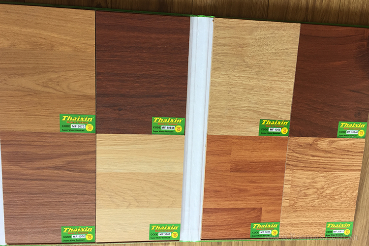 Ván sàn gỗ công nghiệp Thaixin