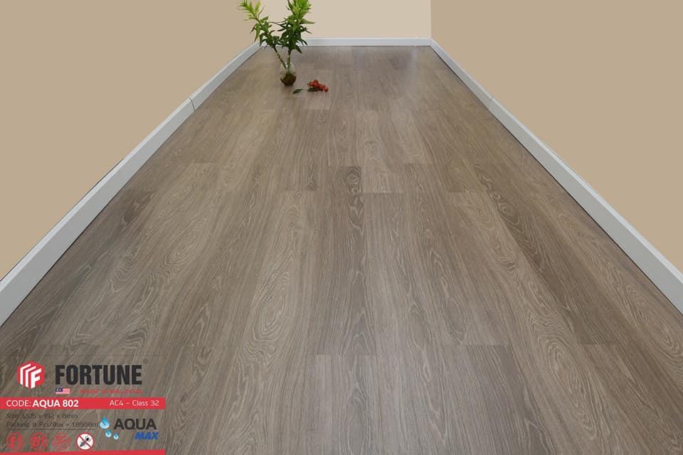 Sàn gỗ công nghiệp Fortune Aqua 802