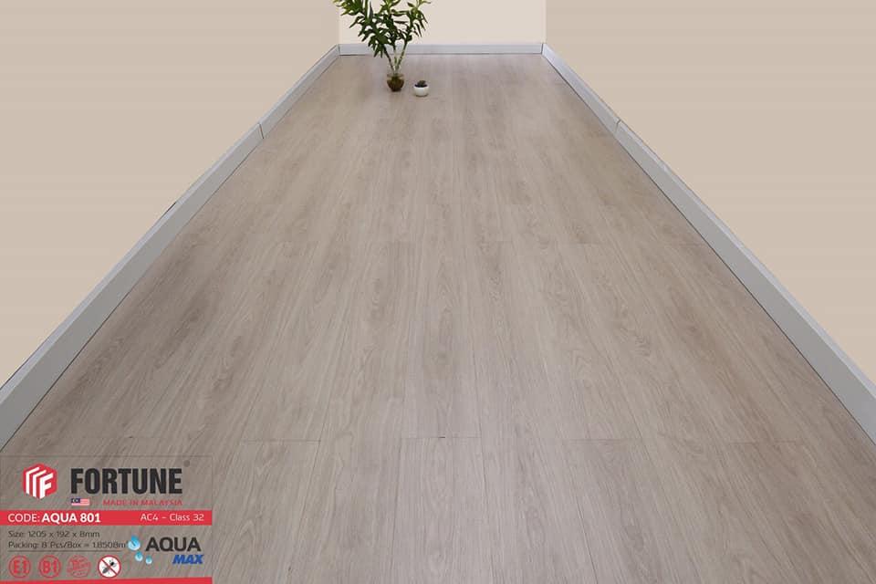 Sàn gỗ công nghiệp Fortune Aqua 808