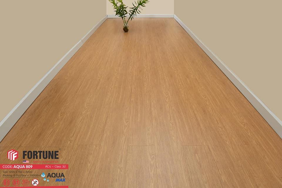 Sàn gỗ công nghiệp Fortune Aqua 809