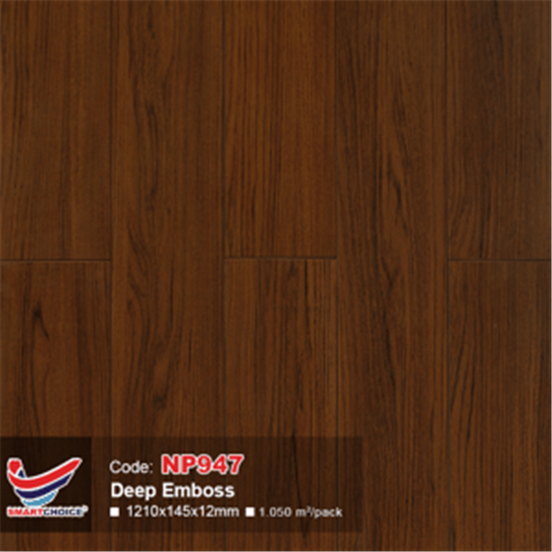 Sàn gỗ công nghiệp Smartchoice 12mm NP 947