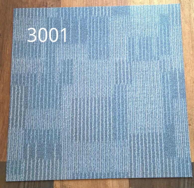 Sàn nhựa deluxe vân thảm 3001