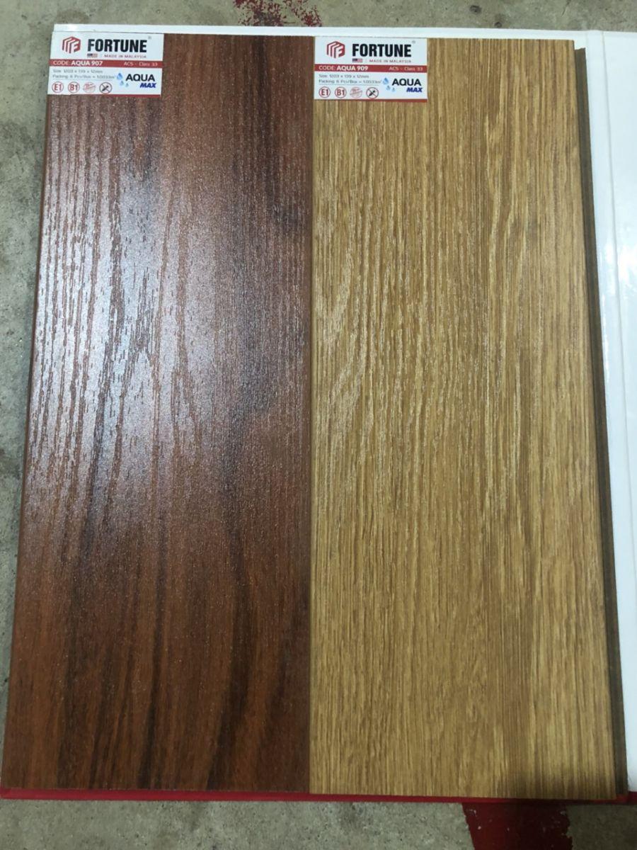 Sàn gỗ giá rẻ  Fortune  chịu nước